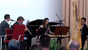 PD_Klavier: Robert Matt, Oboe: Sebastian Römisch, Dan Tran: Helena Nguyen, Harfe: Aline Khouri